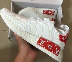 ADIDAS NMD R1 CUSTOM RUNNER SIZE 36-44 TRIPLE ALL WHITE MESH NMD   Clothes, Shoes  Accessories, Mens Shoes, Trainers   eBay!