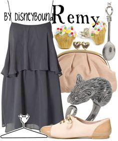 """Remy"" by lalakay ❤ liked on Polyvore"