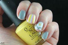 Nerdic Nails. Egg nail art stamping.
