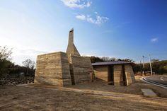 A Daily Dose of #Architecture: Tadashi Saito's Rammed Earth Architecture | #Japan via @archidose