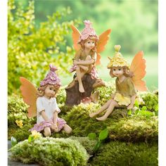 Flow Hat Pixies | Miniature Fairy Gardens | Plow & Hearth