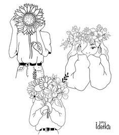 Art Sketches, Art Drawings, Abstract Face Art, Tattoo Flash Art, Aesthetic Drawing, Minimalist Art, Cute Illustration, Art Sketchbook, Doodle Art