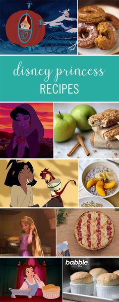 Have you ever drooled over the delicious treats featured in Disney movies? Next time you sit down to watch your favorite Disney Princess movie, whip up these delicious recipes. From sweet apple pie popsicles to a two-ingredient maple soufflé, there's a dish for every princess. Click for the creative and delicious Disney Princess recipes.