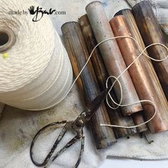 Eco Printing Cotton - madebybarb - simple method botanical printing