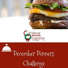 December Dinners Challenge