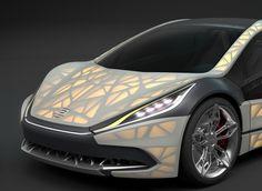 3ders.org - 'EDAG Light Cocoon' 3D printed paper-light concept car to debut at Geneva 2015   3D Printer News & 3D Printing News