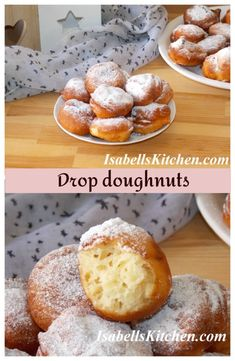 Drop doughnuts (video recipe) - isabell's kitchen