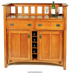Wine cabinet.  I really need to find something like this!