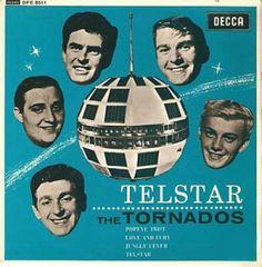 "The Tornados, ""Telstar"" Tornados, Dream Music, Strange Music, Cool Album Covers, One Hit Wonder, British Invasion, Safe For Work, Extended Play, Soul Music"