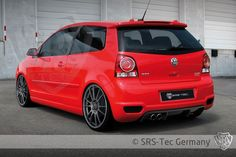 Heckdiffusor Cup, VW Polo 9N3