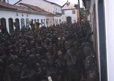 Bloco da Lama - Carnival in Paraty, Rio de Janeiro