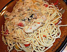 Lemon Chicken + Veggie Spaghetti 2 Dinner Minus the Dishes: One Pot Lemon Chicken Spaghetti Recipe