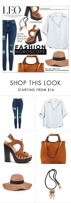 """""""Fashion  Horoscope"""" by natalie1523 ❤ liked on Polyvore featuring Topshop, Balenciaga, Reiss, Lizzie Fortunato, H&M, fashionhoroscope and stylehoroscope"""