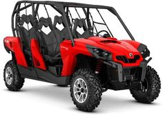 New 2016 Can-Am Commander Max Dps Red ATVs For Sale in California. 2016 Can-Am Commander Max Dps Red,