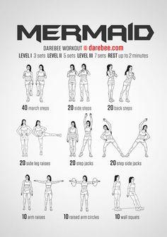 Mermaid Workout