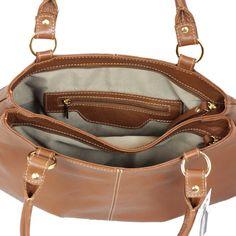 5b1d74785 BOLSA DE OMBRO STAR BAG COURO 2003 CONHAQUE. . Só Courus Uma bolsa mais  linda