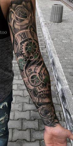 Tätowierungen Tattoos And Body Art mens body tattoos Mens Body Tattoos, Cool Arm Tattoos, Arm Sleeve Tattoos, Sleeve Tattoos For Women, Tattoo Sleeve Designs, Arm Tattoos For Guys, Tattoo Designs Men, Body Art Tattoos, Arm Tattoo Men