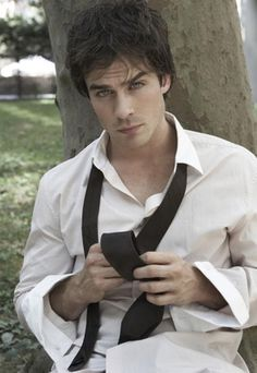 Ian Somerhalder. Please please play Christian Grey!