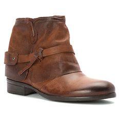 Miz Mooz MIZ MOOZ Women's SEYMOUR Leather Vintage Boot Shoes | Simons Shoes
