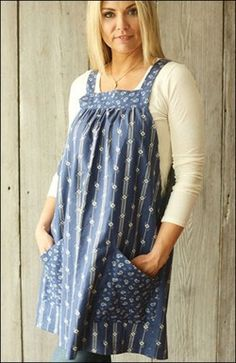 Apron sewing pattern from Indygo Junction