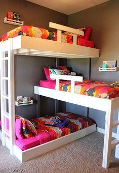 Cómo ahorrar espacio en las habitaciones de tus hijos - El Cómo de las Cosas