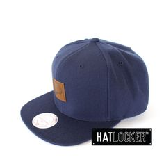 Indiana Pacers High-Crown Uptown Snapback by Mitchell & Ness   Find it at www.hatlocker.com #NBA #Indiana #Pacers #Snapback