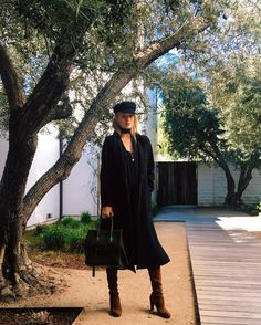 Rosie Huntington-Whiteley in the Wilfred Free Gitte Dress and the Gornick Jacket by The Group by Babaton.