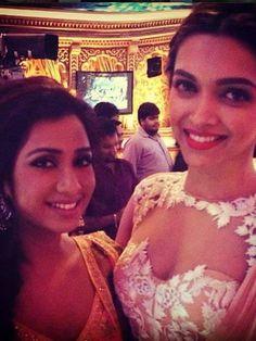 DP and Shreya Ghoshal
