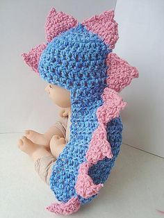 So cute. I need to start crocheting again so I can do this by the time I have a kid. :)