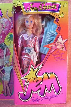 35 Awesome Toys Every '80s Girl Wanted For Christmas  And I totally had this Jem doll ... and the cassette tape to sing her songs.