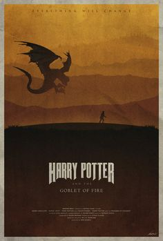 #4 - Harry Potter and the Goblet of Fire -- The Harry Potter Poster Collection - Created by Edward J. Moran II