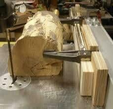 Wood Jig, Wood Lathe, Wood Tools, Diy Tools, Woodworking Wood, Woodworking Projects, Basement Workshop, Woodshop Tools, Diy Bandsaw