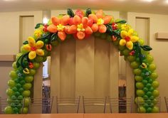balloon arch!!!!!!!                                                                                                                                                                                 More