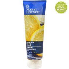 Desert Essence, Italian Lemon Shampoo, Revitalizing, 8 fl oz (237 ml)