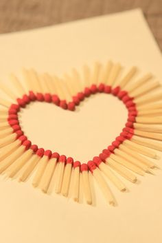 matchstick heart lol so clever
