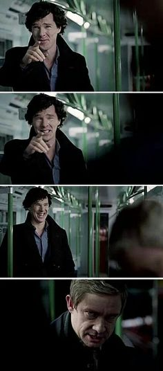 I was so mad at Sherlock for this... John's about to kill him lol ~That looks more like Benedict than Sherlock...