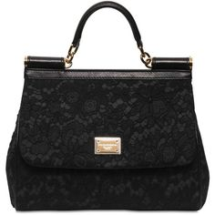 Dolce and Gabbana Medium Miss Sicily Cotton Lace Bag - Lyst 73e22928fbc9a