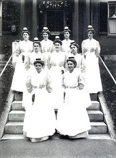 Nurses of the Elliot City Hospital in Keene New Hampshire.