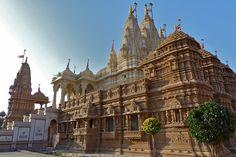 BAPS Shri Swaminarayan Hindu Mandir, 1934, Gondal, Gujarat, India - Beauty of Hinduism and Indian Culture