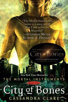 Summer book! Mortal Instruments: City Of Bones. Freaking love this book!
