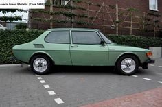 Saab 99 Turbo Acacia Green