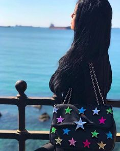 FOLLOW YOUR DREAM ... @azzurrasoda indossa la borsa #superstar della nuova collezione #springsummer18 ! #shopart #collection #onlyforsupergirl