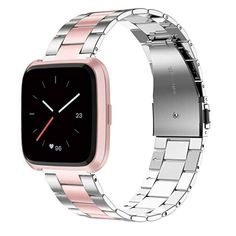 Smartwatch, Bracelet Fitbit, Fitness Wristband, Stainless Steel Bracelet, Watch Bands, Accessories, Free Shipping, Watches, Mobile Phones