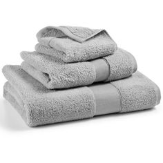 Hotel Collection Premier Wash Towel, ($8.99) ❤ liked on Polyvore featuring home, bed & bath, bath, bath towels, zinc, hotel collection bath towels and patterned bath towels
