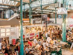 Markthalle Neun - Condé Nast Traveler; Berlin Kreuzberg street food
