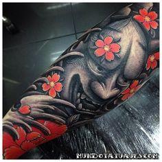 Tatuajes de El Ogro Oni, con estilo y diseño japones 6