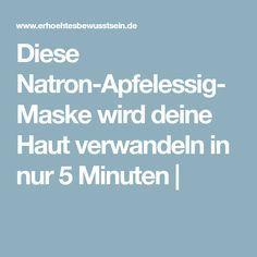 Diese Natron-Apfelessig-Maske wird deine Haut verwandeln in nur 5 Minuten Beauty Make Up, Diy Beauty, Beauty Hacks, Beauty Tips, Apple Cider Vinegar Cellulite, Cellulite Remedies, Diy Hair Mask, Alternative Hair, Skin Care Tips