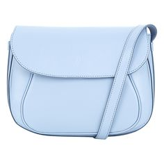 Buy Soft Blue Hobbs Leather Hampstead Saddle Bag from our Handbags, Bags & Purses range at John Lewis & Partners. Hobbs, John Lewis, Saddle Bags, Suitcase, Backpacks, Leather, Gifts, Blue, Stuff To Buy