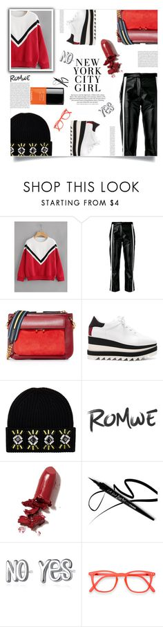 """""""backtoschool"""" by ztugceuslu ❤ liked on Polyvore featuring 8PM, Marni, STELLA McCARTNEY, Markus Lupfer and LAQA & Co."""