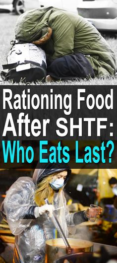 Here's an interesting question that preppers rarely ask: If you start running low on food, how do you ration what's left? Hopefully, you won't ever run low on food, but there are plenty of scenarios where it could happen. #urbansurvival #survivalfood #shtf